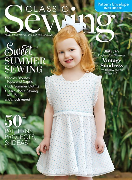 Classic Sewing Cover - 6/1/2020