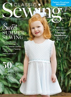Classic Sewing | 6/2020 Cover