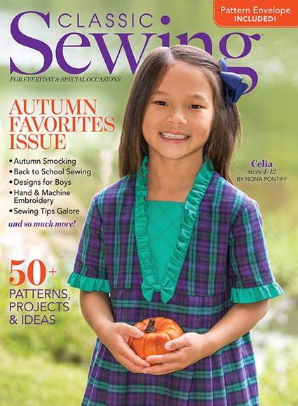 Classic Sewing Cover - 9/1/2020