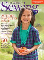 Classic Sewing | 9/2020 Cover