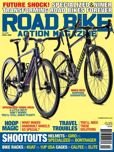 Road Bike Action Cover - 4/1/2020