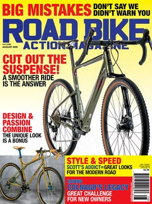 Road Bike Action Magazine | 8/2020 Cover