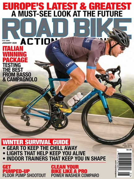 Road Bike Action Cover - 1/1/2020