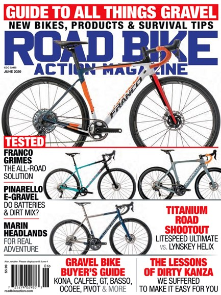 Road Bike Action Cover - 6/1/2020