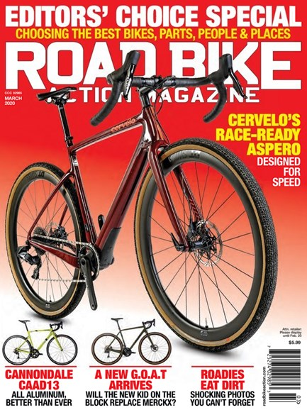 Road Bike Action Cover - 3/1/2020
