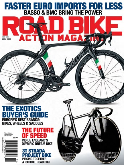 Road Bike Action Cover - 5/1/2020