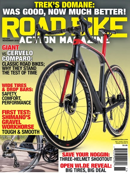 Road Bike Action Cover - 11/1/2019