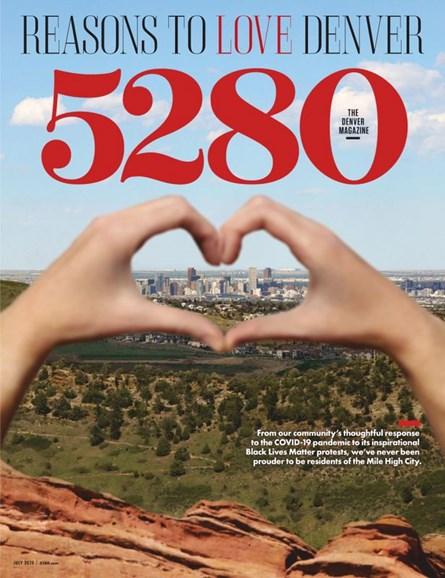 5280 Magazine Cover - 7/1/2020