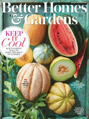 Better Homes & Gardens Magazine | 8/1/2020 Cover
