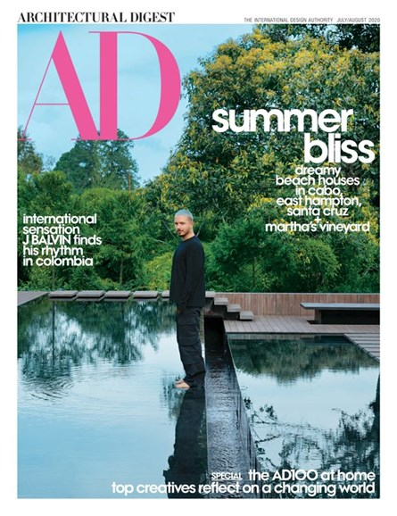Architectural Digest Cover - 7/1/2020