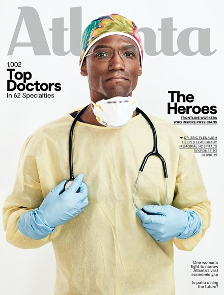 Atlanta Magazine Cover - 7/1/2020