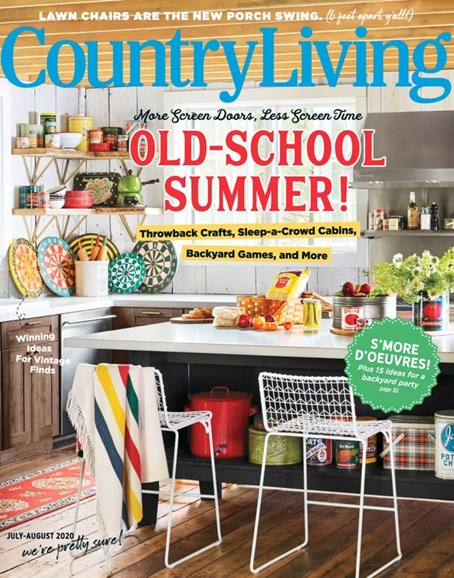 Country Living Cover - 7/1/2020