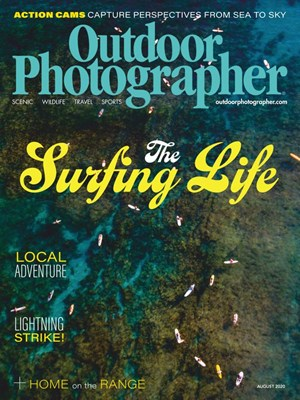 Outdoor Photographer Magazine | 8/2020 Cover