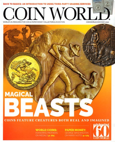 Coin World Monthly Cover - 5/1/2020