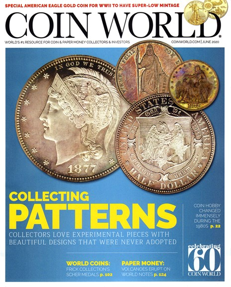 Coin World Monthly Cover - 6/1/2020