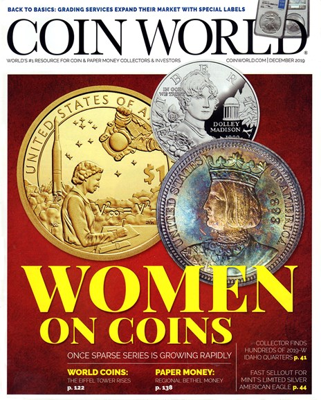 Coin World Weekly Cover - 12/1/2019