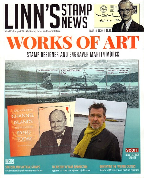 Linn's Stamp News Monthly Cover - 5/18/2020