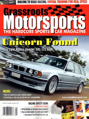 Grassroots Motorsports Magazine | 8/2020 Cover