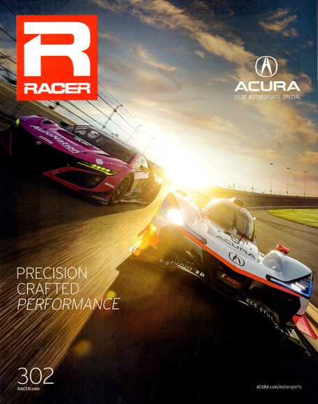 Racer Cover - 3/1/2020