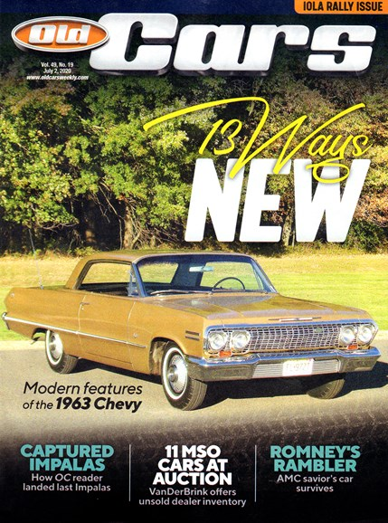 Old Cars Cover - 7/2/2020