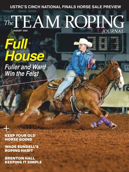 The Team Roping Journal Cover - 8/1/2020
