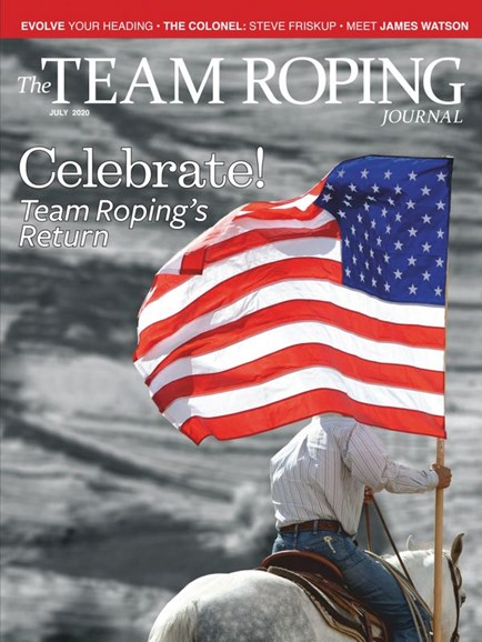 The Team Roping Journal Cover - 7/1/2020