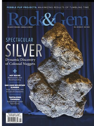 Rock and Gem Magazine | 7/2020 Cover