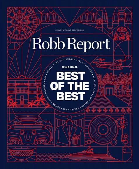 Robb Report Cover - 6/1/2020