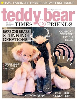Teddy Bear Times and Friends Magazine | 6/2020 Cover