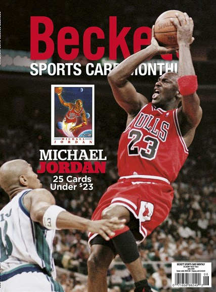 Beckett Sports Card Monthly Cover - 6/1/2020