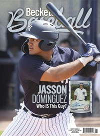 Beckett Baseball Magazine | 8/2020 Cover