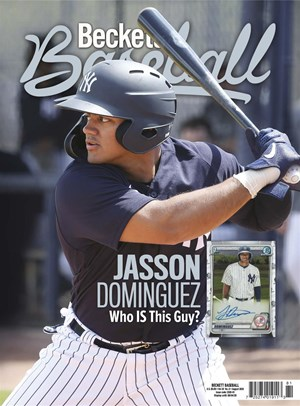 Beckett Baseball Magazine | 8/2020 Cover