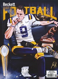 Beckett Football  Magazine   8/2020 Cover