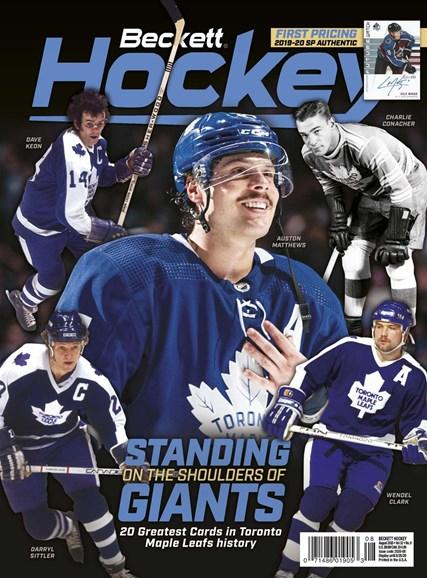 Beckett Hockey Cover - 8/1/2020