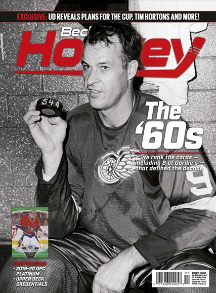 Beckett Hockey Cover - 7/1/2020