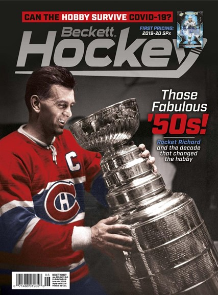 Beckett Hockey Cover - 6/1/2020