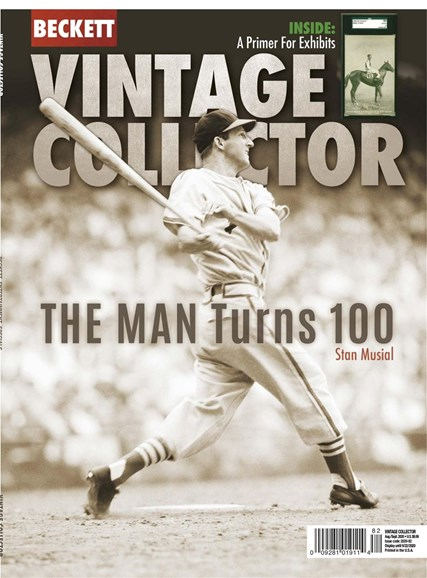 Beckett Vintage Collector Cover - 8/1/2020