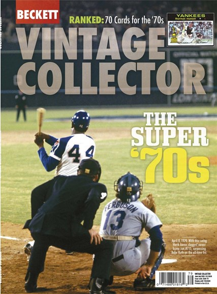 Beckett Vintage Collector Cover - 6/1/2020