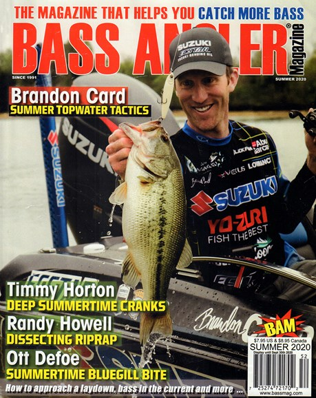 Bass Angler Cover - 6/1/2020