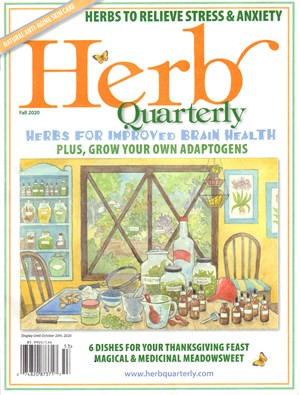 Herb Quarterly Magazine | 9/2020 Cover