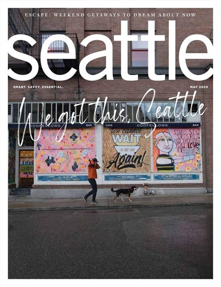 Seattle Magazine Cover - 5/1/2020