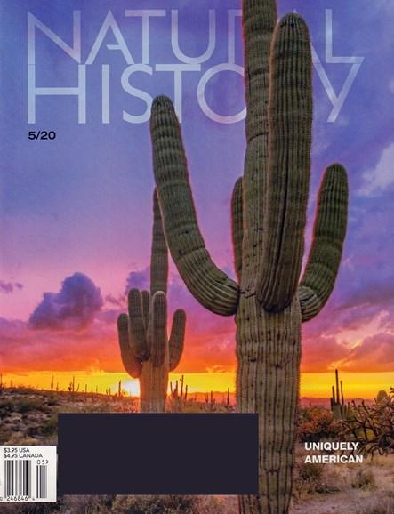 Natural History Cover - 5/1/2020
