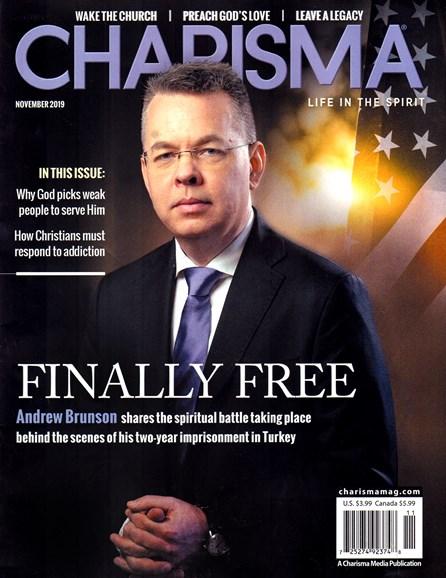 Charisma Cover - 11/1/2019