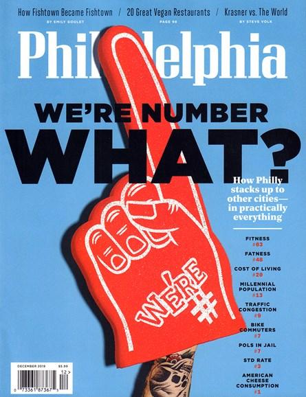 Philadelphia Magazine Cover - 12/1/2019