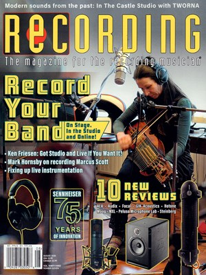 Recording Magazine | 8/2020 Cover