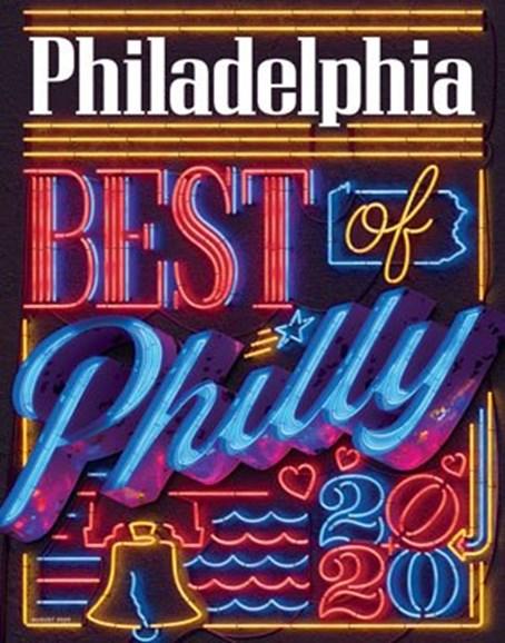 Philadelphia Magazine Cover - 8/1/2020