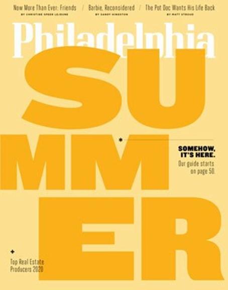Philadelphia Magazine Cover - 6/1/2020