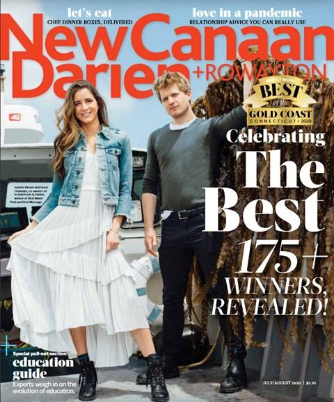 New Canaan-Darien Cover - 7/1/2020