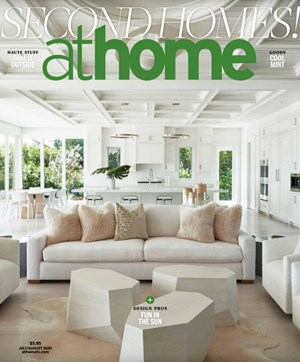 At Home in Fairfield County Magazine | 7/2020 Cover