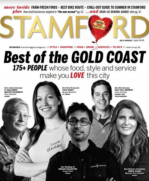 Stamford Magazine Cover - 7/1/2020